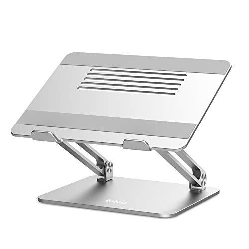 Dell XPS et autres 11-17 Samsung Lenovo Support pour Ordinateur en aluminium compatible avec MacBook Pro//Air HP Multi Angle pour Ordinateur avec Ventilation Support Ordinateur Portable